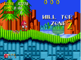 Sonic & Knuckles + Sonic the Hedgehog 2 (World) [Hack by Hachelle-Bee v1.8] (Long Version)
