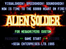 Alien Soldier (Japan)