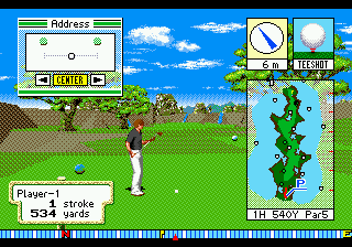 New 3D Golf Simulation Devil's Course (Japan)