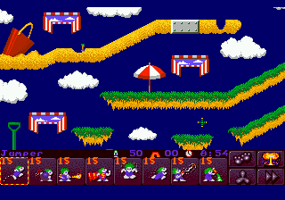 Lemmings 2 - The Tribes (Europe)