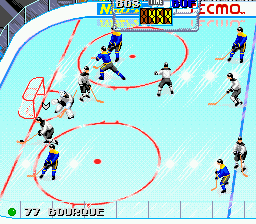 Tecmo Super Hockey (USA)