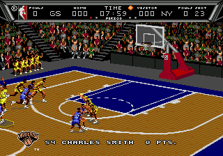 NBA Action '94 (USA)