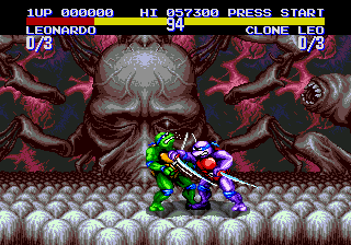 Teenage Mutant Hero Turtles - Tournament Fighters (Europe)