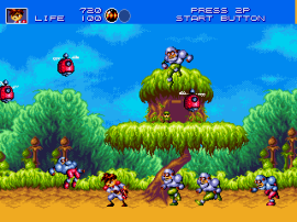 Gunstar Heroes (Japan) (Sample)
