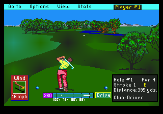 PGA Tour Golf (USA, Europe) (v1.1)