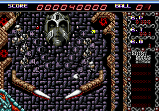 Devil Crash MD (Japan)