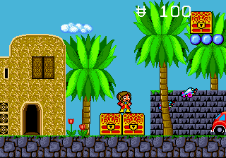 Alex Kidd in the Enchanted Castle (Europe)