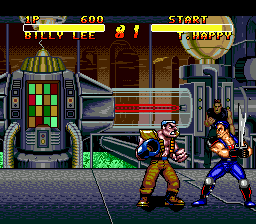 Double Dragon V - The Shadow Falls (USA)