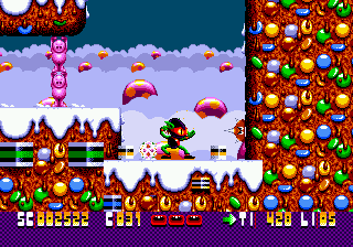 Zool - Ninja of the 'Nth' Dimension (USA)