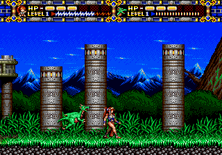 Alisia Dragoon (Europe)