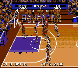 Tecmo Super NBA Basketball (USA)