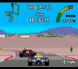 Nigel Mansell's World Championship Racing (USA)