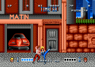 Double Dragon (USA, Europe)