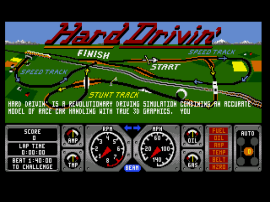 Hard Drivin' (World)