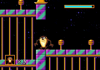 Taz in Escape from Mars (Europe)
