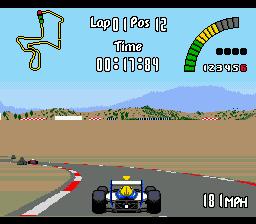 Nigel Mansell's World Championship Racing (Europe)