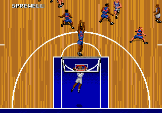 NBA Action '95 Starring David Robinson (USA, Europe)