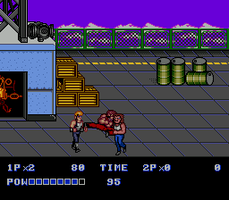 Double Dragon II - The Revenge (Japan)