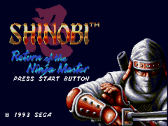 Shinobi III - Return of the Ninja Master (Europe)