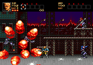 Contra - The Hard Corps (Japan)