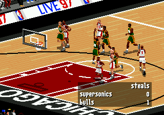 NBA Live 97 (USA, Europe)