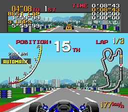 Ayrton Senna's Super Monaco GP II (USA) (En,Ja)