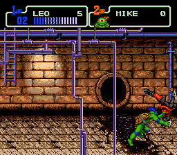 Teenage Mutant Ninja Turtles - Return of the Shredder (Japan)