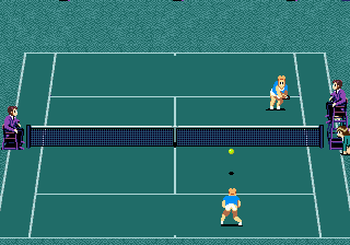 GrandSlam - The Tennis Tournament '92 (Japan)