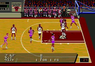 NBA Pro Basketball '94 (Japan)