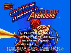 Captain America and the Avengers (USA) (Beta)