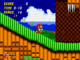 Sonic & Knuckles + Sonic the Hedgehog 2 (World)