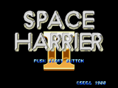 Space Harrier II (Japan) (Launch Cart)