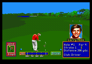 PGA Tour Golf II (USA, Europe) (v1.1)