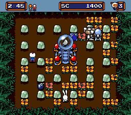 Mega Bomberman (Europe)