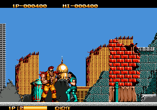 Crude Buster (Japan)