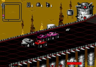Rock n' Roll Racing (Europe)