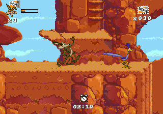 Desert Demolition Starring Road Runner and Wile E. Coyote (USA, Europe)