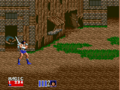 Golden Axe II (World)