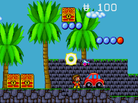 Alex Kidd in the Enchanted Castle (Europe) (Alt)