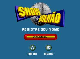 Show do Milhao (Brazil)