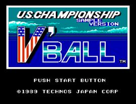 U.S. Championship V'Ball (Japan) (Beta)