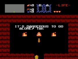 Legend of Zelda, The (USA) (Rev A) [Graphic Hack by PocketNES v1.0] (Pocket Edition)