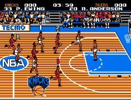 Tecmo NBA Basketball (USA) (Rev A)