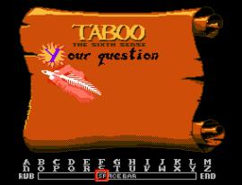 Taboo - The Sixth Sense (USA) (Rev A)
