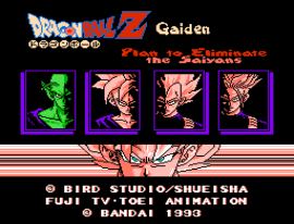 Dragon Ball Z Gaiden - Saiya Jin Zetsumetsu Keikaku (Japan) [En by Twilight v1.0] (~Dragon Ball Z Gaiden - Plan to Eliminate the Saiyans) (Vegeta Control)