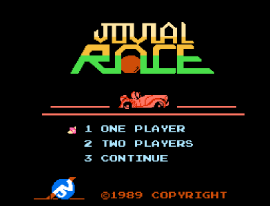 Jovial Race (Asia) (Unl) (NES)