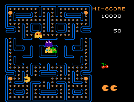 Ms. Pac-Man (USA) [Hack by Dave Augusta+Googie v1.0] (~Mr. Pac-Man)
