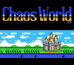 Chaos World (Japan) [En by Aeon Genesis v0.98F]