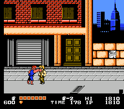 Double Dragon (USA) [Hack by Hiro1112 v1.1] (Arcade Mix)