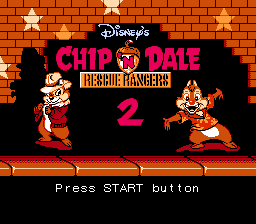 Chip 'n Dale Rescue Rangers 2 (USA) (Beta)